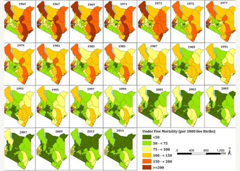 What mapping Kenya's child deaths for 50 years revealed — and why it matters