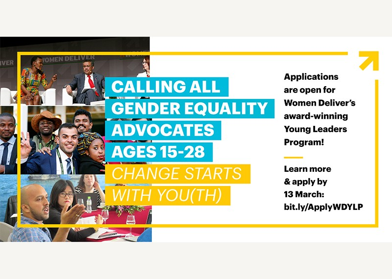 Join the Women Deliver Young Leaders Class of 2020
