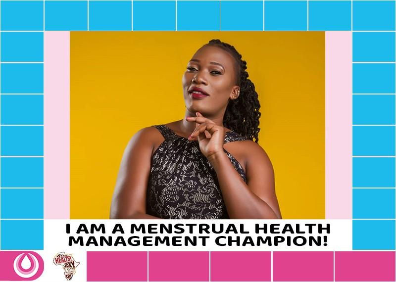 #HappyFlow Monday: Profiling Menstrual Health Management Champions - Magdaline Majuma