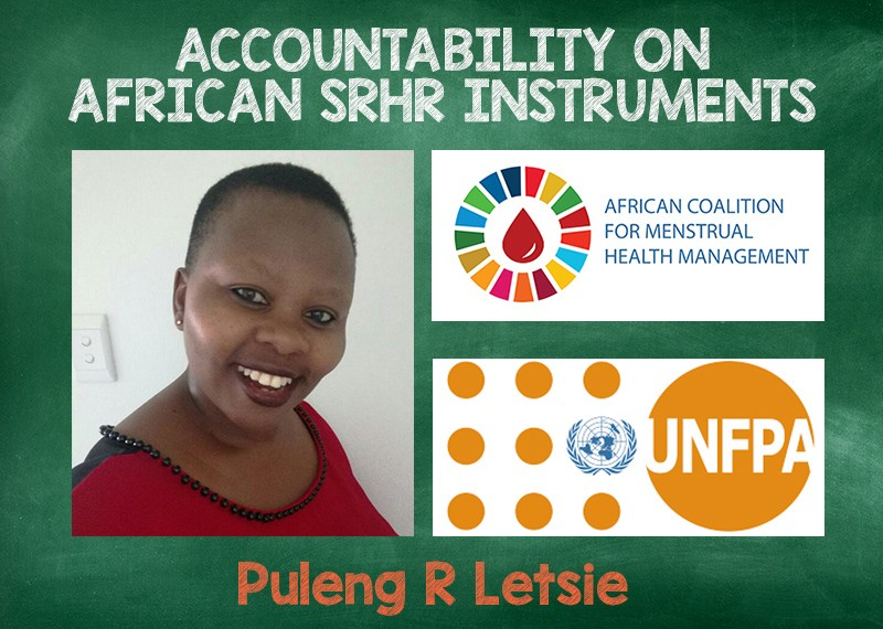 Accountability on African SRHR Instruments: Profiling Puleng R Letsie